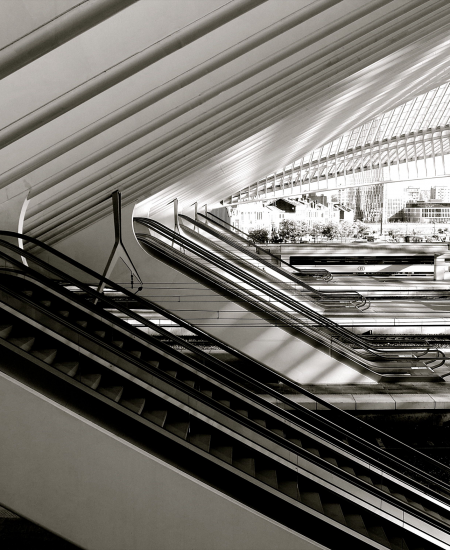 GUILLEMINS ROLLING STAIRS